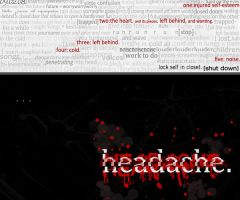 headache. by starcatcher42