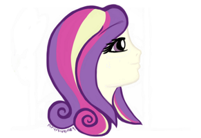 Princess Cadence (Side View) by perseveringrose