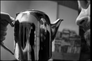 me in the tea pot... by thedoberman