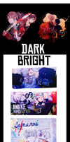 Dark & Bright by Yomi-Yumi