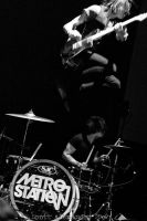Metro Station:  Flying High.. by straightfromcamera