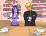 Equestrian Heroes Naruto and Twilight by TheRealKyuubi16