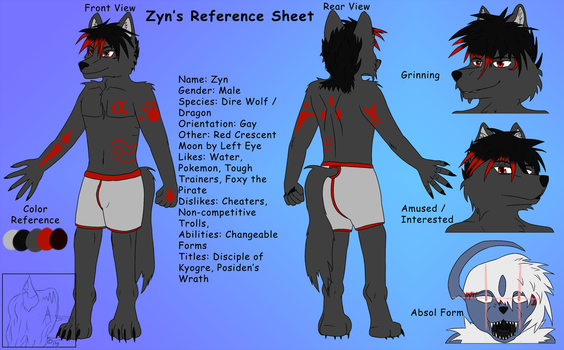 Zyn Ref Sheet (Commission) by MaximusEXE