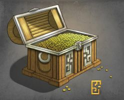 Pirate chest concept, part 3 by Deth-h