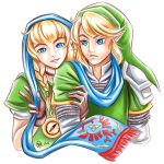 Linkle and Link by raposavyk