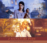 Signature PSD Pack #1 by raven-orlov