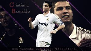 Cristiano Ronaldo - Official Wallpaper 2012 by eL-Kira