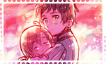 Young Romano stamp by Checkermonster