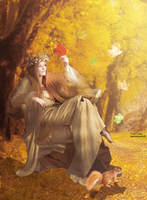 Artwork No.2 : Manipulation - Autumn Queen by DSN48-Group