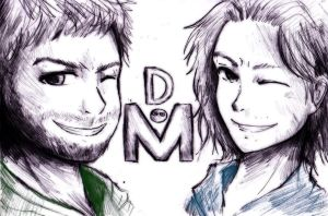 Commission- Double M by ReenaCat
