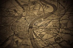 old map of Cologne by MisterDedication