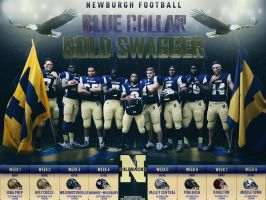 Newburgh Football Poster by Sanoinoi