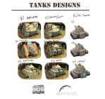 PS4 Game ''Rollin'Bob'' Tanks designs by Jmc117