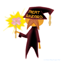 Meat Wizard by Suiseii