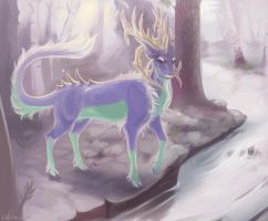 Warden of these woods by TicklyRoach