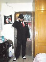 Me as a Gangster by Hellboy777Kratos