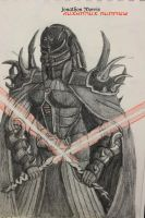 Early Costume for Darth Trahir by JAM4077