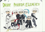 Danny Phantom: Elements by PoisonIVy10