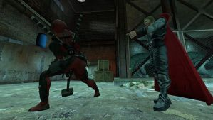 gmod - Thor and Deadpool 3 by delta-28