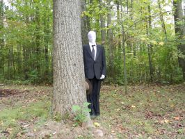 Slenderman Cosplay by Wylrin