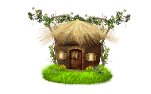 PNG ROCK HOUSE by Moonglowlilly