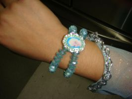 Look at Disney Frozen Elsa bracelet by Magic-Kristina-KW