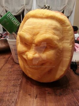 Pumpkin Carving by Mgnelson