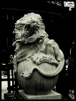 Stone Lion by honest-misconception
