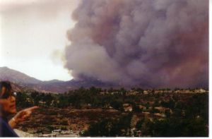 '03 Cedar fire: view from TW by sapphire-night