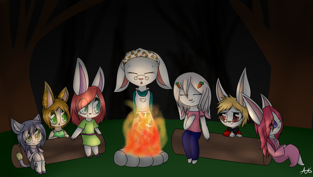 (Com)Campfire Stories by Pinkdolphin147