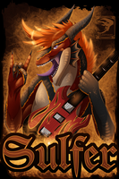 Badge Comish - Sulfer by TwilightSaint