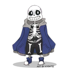 Oversized Sans by SP00Kitty