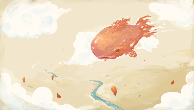 A Fish Where A Fish Probably Doesn't Belong by sereneworx