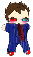 Tenth Doctor Plushie by optical-jackson