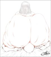 SMOTHERED BY BIG OL' BOOTYA ON HUMP DAY PENCIL by Artistik-Bootya