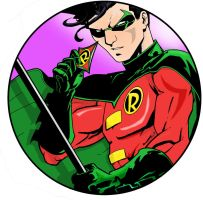 Robin The Boy Wonder by InaudibleWhisper