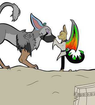 me and Trico by DJTrapandLucifer