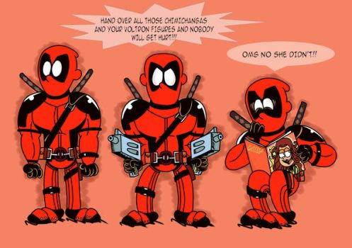 Deadpool TLH Style by roco340