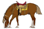 BB Static Shock Tack Ref by BiscottiStables