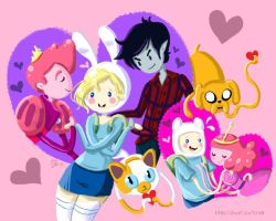 Adventure Time Heart Blossom by shucakes