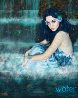 Serenity- Water Element. by theblueofmyoblivion