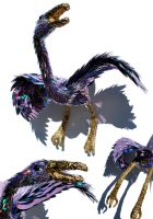 The enormous purple bird by SeanAvery