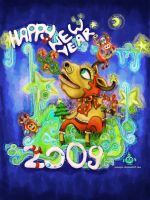 new_year_card by manipu