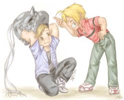 FMA- Moments In Innocent by Lillian-hime