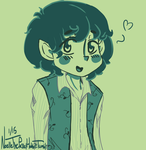 Frodo in pallet A7 by ThePastelHobbit