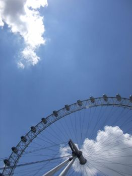 london eye by kjgd