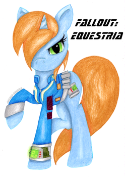 Littlepip Fallout:Equestria by The-Sacred-Rose