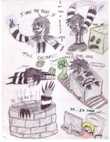 The Adventures on Minecraft: With Laughing Jack by Wicker123