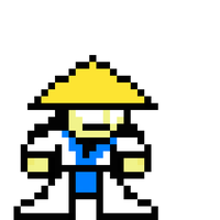 8-Bit MK Classic Raiden by LPugh