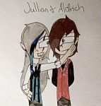 Jullian X Aldrich (You're My New Play Thing) by MySancuaryLittlePony